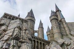 Замок Hogwarts стоковая фотография rf
