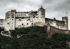 Замок Hohensalzburg - Зальцбург - Австрия стоковая фотография