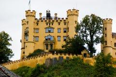 Замок Hohenschwangau стоковые фотографии rf