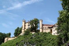 Замок Hohenschwangau, Бавария Стоковые Изображения