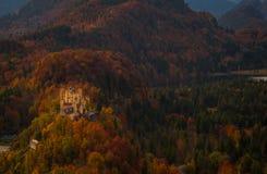 Замок Hohenschwangau в Fussen Стоковое фото RF