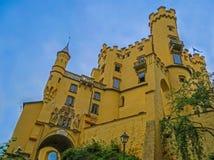 Замок Hohenschwangau Стоковое Изображение RF