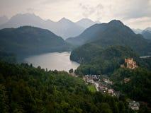Замок Hohenschwangau Стоковое Изображение