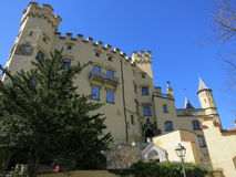 Замок Hohenschwangau Стоковое Фото