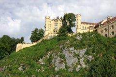 Замок Hohenschwangau Стоковые Изображения RF