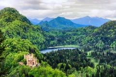 Замок Hohenschwangau Стоковое фото RF