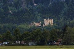 Замок Hohenschwangau стоковая фотография