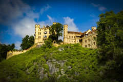 Замок Hohenschwangau стоковые изображения