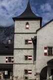 Замок Hohenwerfen, Salzburgh Стоковые Фото