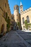 Замок Hohenzollern, Германия - 30-ое апреля 2017, Hohenzollern Ca Стоковая Фотография