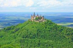 Замок Hohenzollern, Германия Стоковое фото RF