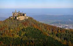 Замок Hohenzollern, Германия Стоковое Изображение RF