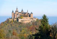 Замок Hohenzollern, Германия Стоковое Фото