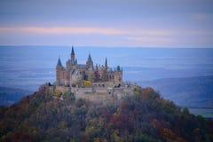 Замок Hohenzollern, Германия Стоковые Изображения