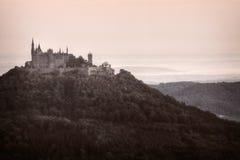 Замок Hohenzollern Стоковые Изображения