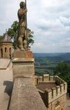 замок hohenzollern Стоковая Фотография