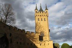 замок hohenzollern Стоковая Фотография RF