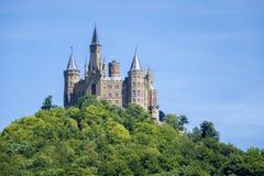 замок hohenzollern Стоковое фото RF