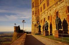 замок hohenzollern swabian осени Стоковое Фото
