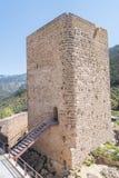 Замок Hornos de segura, Cosmonarium, Jaen, Испания Стоковое Изображение RF