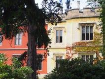 Замок Hradek u Nechanic стоковое изображение rf