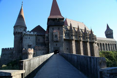 Замок Hunyad стоковая фотография