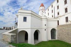 Замок II Братиславы Стоковые Фото