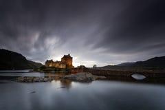 Замок II Eilean Donan Стоковые Фотографии RF