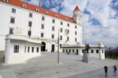 Замок III Братиславы Стоковая Фотография