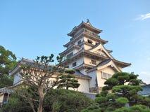 Замок Imabari в Imabari, Японии стоковое изображение rf
