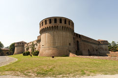 замок imola Италия средневековая Стоковая Фотография
