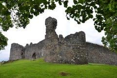 Замок Inverlochy около Fort William в Шотландии, Великобритании стоковая фотография rf