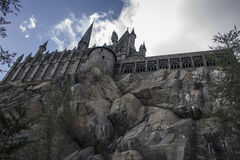 Замок IV Hogwarts Стоковые Изображения RF