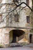 Замок Jaunpils, Латвия Стоковое фото RF