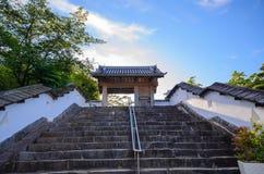 Замок Kakegawa стоковая фотография rf