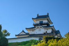 Замок Kakegawa стоковое фото