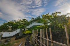 Замок Kakegawa стоковое фото rf
