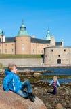 Замок Kalmar, Швеция Стоковые Фото