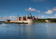 Замок Kalmar Стоковое Изображение RF