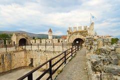 Замок Kamerlengo, Хорватия Стоковое Изображение RF