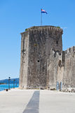 Замок Kamerlengo, Trogir, Хорватия Стоковое Фото