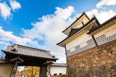Замок Kanazawa в Kanazawa, Японии Стоковая Фотография