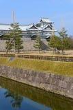 Замок Kanazawa Стоковые Изображения RF