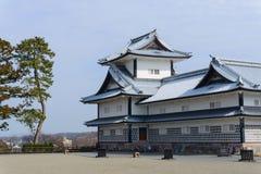 Замок Kanazawa Стоковое Изображение