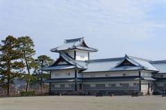 Замок Kanazawa Стоковое Изображение RF