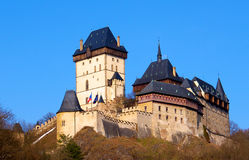 Замок Karlstejn в чехии стоковое фото