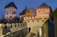 Замок 2 Karlstejn, чехия Стоковые Изображения RF