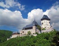 Замок 01 Karlstejn Стоковое фото RF
