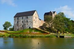 Замок Kastelholm стоковые фотографии rf