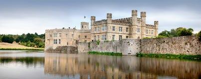 замок kent leeds Великобритания Стоковая Фотография RF